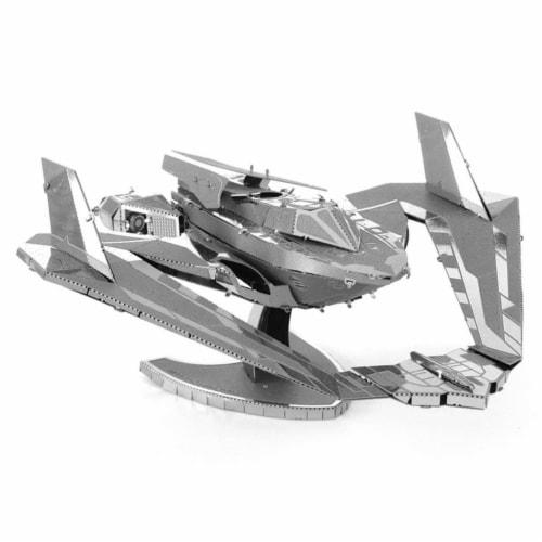 Metal Earth DC Batman Vs Superman Batwing Steel Model Kit Perspective: front