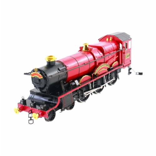 Fascinations Harry Potter Hogwarts Express Train 3D Metal Model Kit Perspective: front