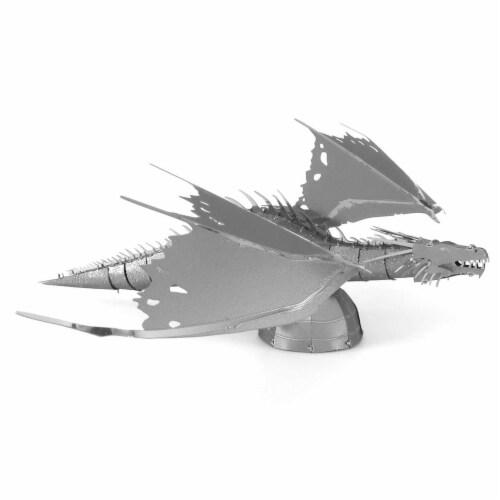 Metal Earth Harry Potter Gringott's Dragon Steel Model Kit Perspective: front