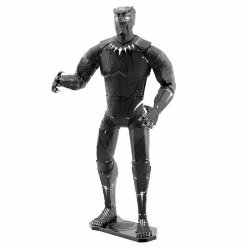 Metal Earth Marvel Black Panther Steel Model Kit Perspective: front