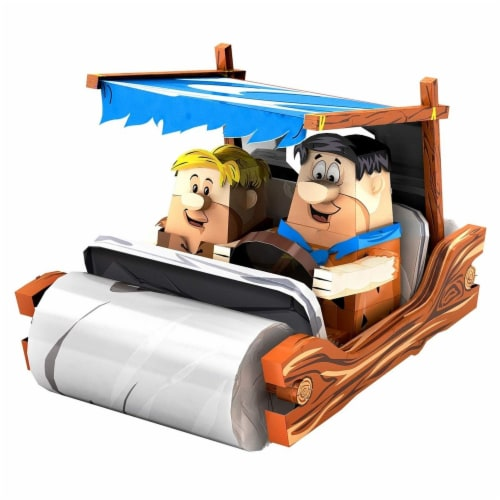 Metal Earth Legends The Flintstones Car Steel Model Kit Perspective: front