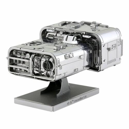 Metal Earth Star Wars Solo Moloch's Landspeeder Steel Model Kit Perspective: front