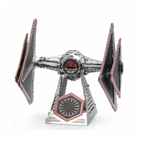 Metal Earth Star Wars SITH TIE Fighter Model Kit MMS417 Perspective: front