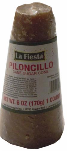 La Fiesta Piloncillo Cane Sugar Cone Perspective: front