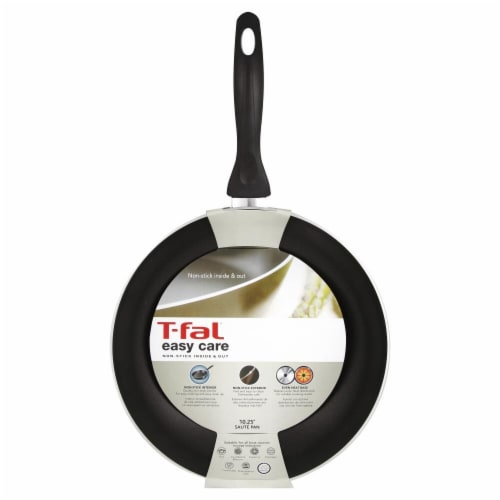 T-Fal Easy Care Saute Pan - Black Perspective: front