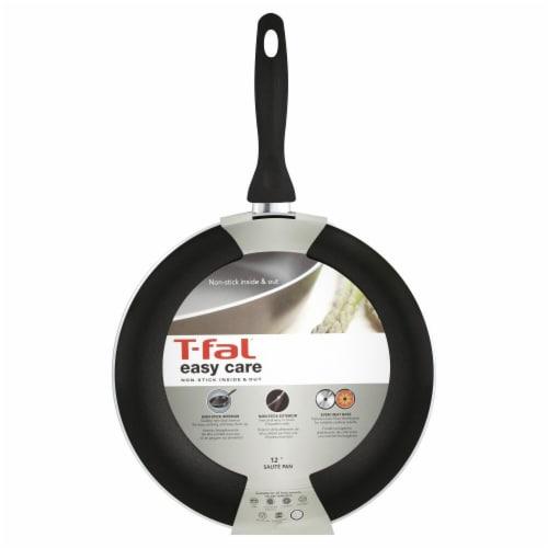 T-Fal Easy Care Sauté Pan - Black Perspective: front