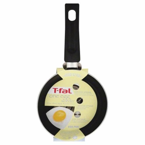 T-Fal One Egg Wonder Nonstick Pan - Black Perspective: front