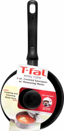 T-fal Easy Care Nonstick Saucepan Perspective: front