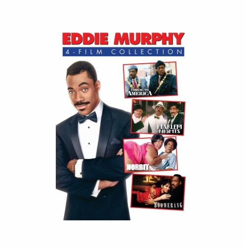 Eddie Murphy: 4 Film Collection Perspective: front