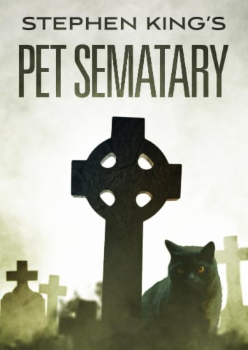 Pet Sematary (1989 - DVD) Perspective: front