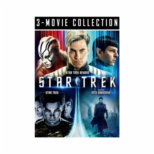 Star Trek: Three Movie Collection on DVD Perspective: front