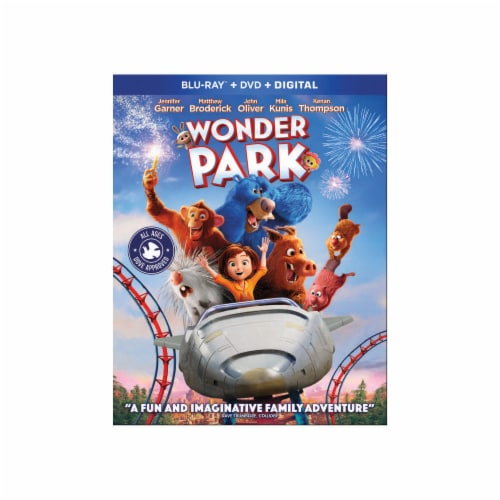 Wonder Park (Blu-Ray/DVD/Digital Code) Perspective: front
