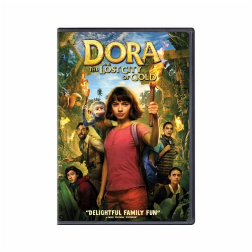 Dora and the Lost City of Gold (2019 - DVD) Perspective: front
