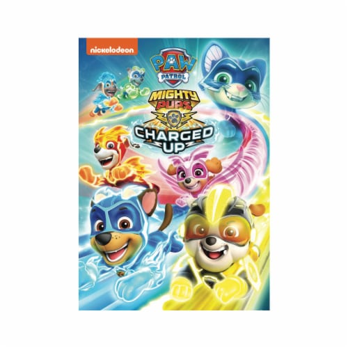 Paw Patrol: Mighty Pups Charged Up (2020 - DVD) Perspective: front