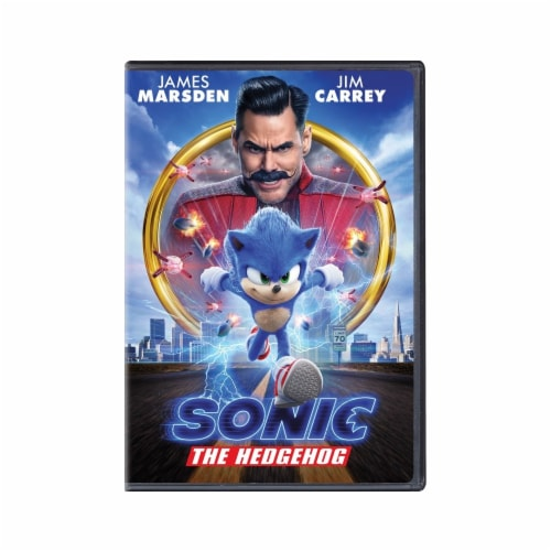 Sonic the Hedgehog Movie (DVD) Perspective: front