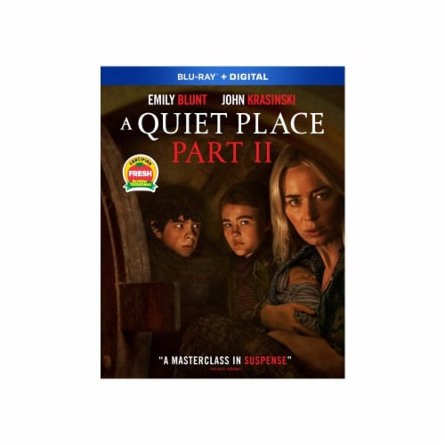 A Quiet Place Part 2 (Blu-Ray/Digital Copy) Available for Preorder to Ship 7/27 Perspective: front