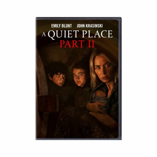 A Quiet Place Part 2 (DVD) Available for Preorder to Ship 7/27 Perspective: front