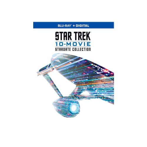 Star Trek: 10-Movie Stardate Collection (Blu-Ray + Digital) Perspective: front