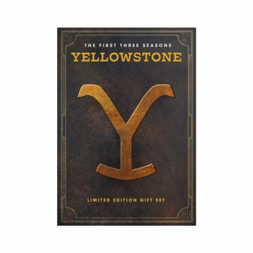 Yellowstone: The First Three Seasons (DVD) Perspective: front