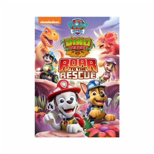 Paw Patrol Dino Rescue & Roar to the Rescue (DVD) Perspective: front