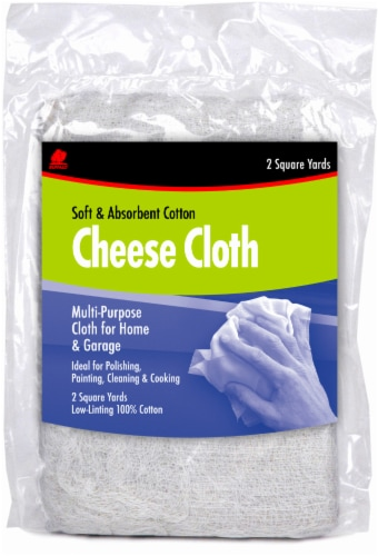 Buffalo Cheese Cloth - White Perspective: front