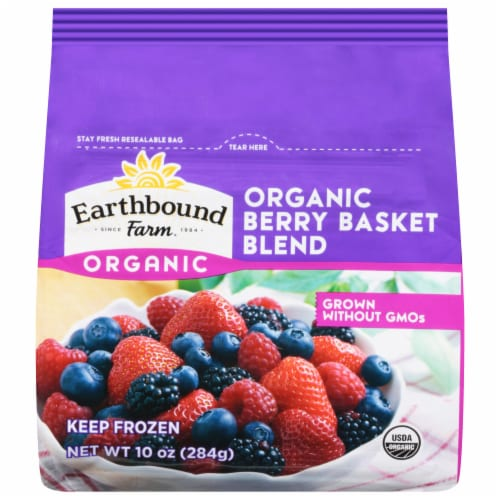 Earthbound Farm Organic Berry Basket Blend Perspective: front