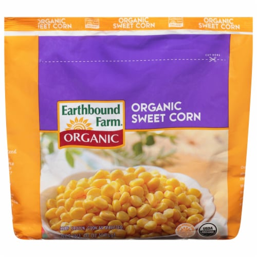 Earthbound Farm Organic Sweet Corn Perspective: front