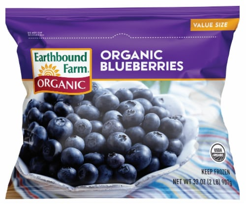 Earthbound Farm Organic Blueberry Perspective: front