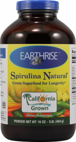 Earthrise  Spirulina Natural® Powder Perspective: front