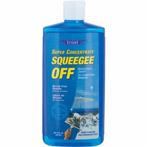 Ettore Squeegee Off Super Concentrate Glass Cleaner Perspective: front