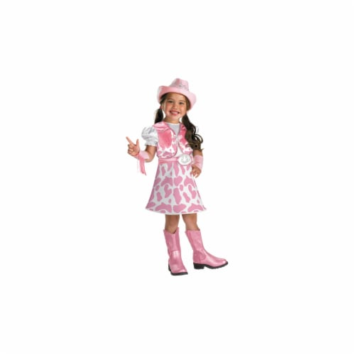Costumes For All Occasions DG50027L Wild West Cutie Large 4-6X Perspective: front