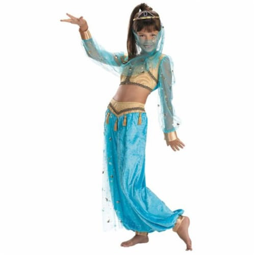 Costumes For All Occasions DG217K Mystical Genie Child 7-8 Perspective: front