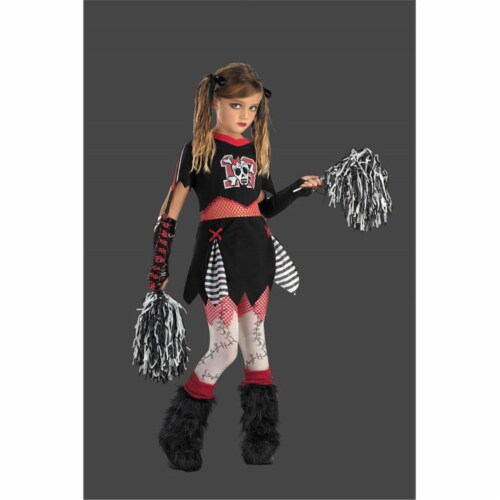 Costumes For All Occasions DG2802G Cheerless Leader Size 10 To 12 Perspective: front