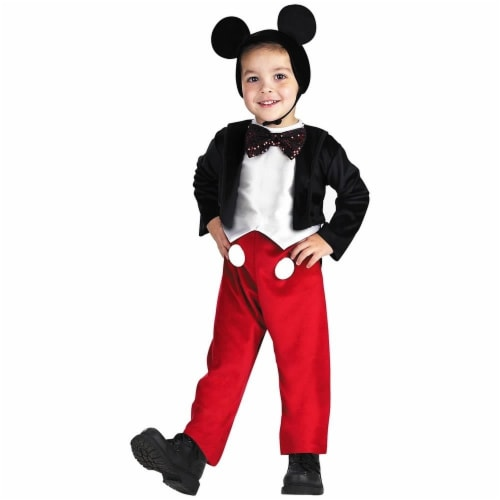 Mickey Mouse Deluxe Costume (4 - 6) Perspective: front