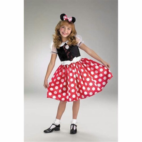 Costumes For All Occasions Dg5036L Minnie Mouse 4 To 6 Perspective: front