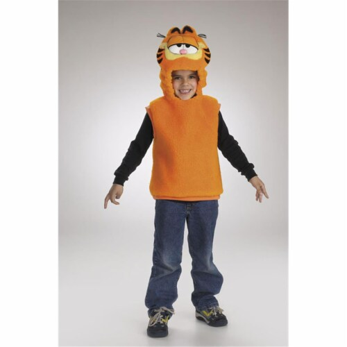 Costumes For All Occasions DG5112S Garfield Vest 1 2 Perspective: front