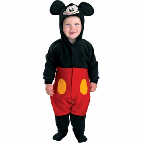 Mickey Classic Toddler Costume (12-18 mths) Perspective: front