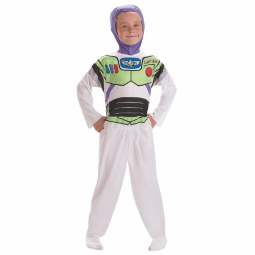 Morris DG5706L Buzz Basic Child Costume, Size 4-6 Perspective: front