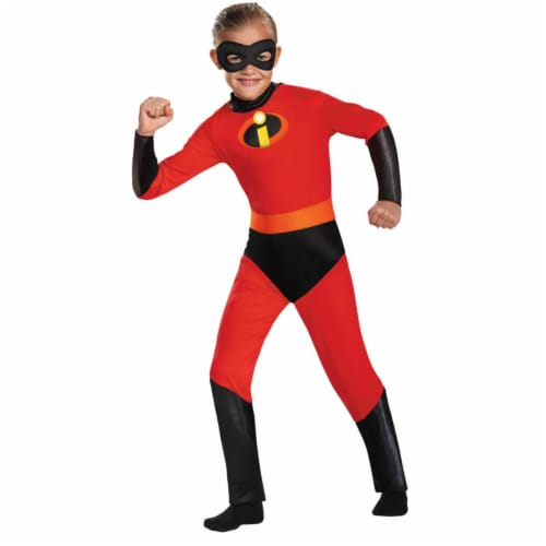 Disguise Dash Incredible Child Costume, (Size Medium 7-8) Perspective: front