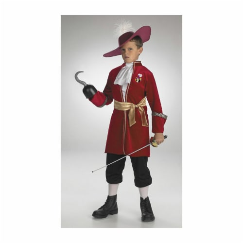 Costumes For All Occasions DG5966M Captain Hook Standard 3T 4T Perspective: front
