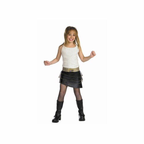 Costumes For All Occasions DG6671L Hannah Montana Qualty Chd 4 6x Perspective: front