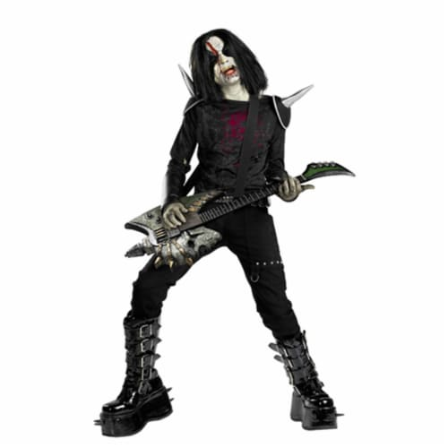 Costumes For All Occasions DG50082K Metal Mayhem Medium 7-8 Perspective: front