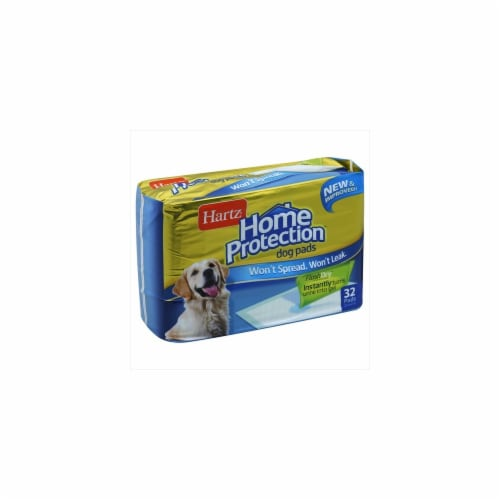 Hartz Home Protection Puppy Pads 32 Count Perspective: front