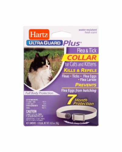 Hartz Ultra Guard Plus Flea and Tick Collar for Cats Perspective: front