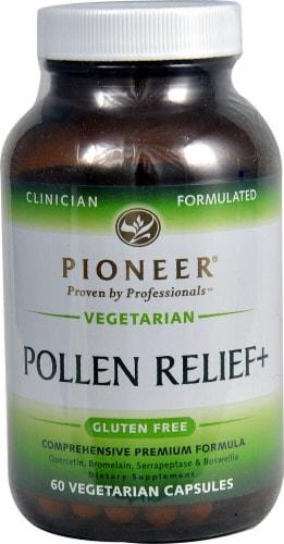 Pioneer  Pollen Relief + Perspective: front