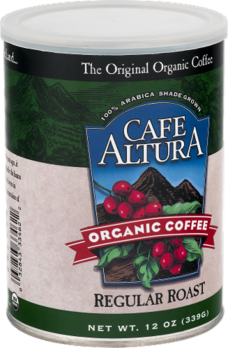 Cafe Altura Organic Regular Roast Coffee Perspective: front