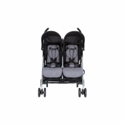 Evenflo MinnoTwin Double Stroller - Glenbarr Grey Perspective: front