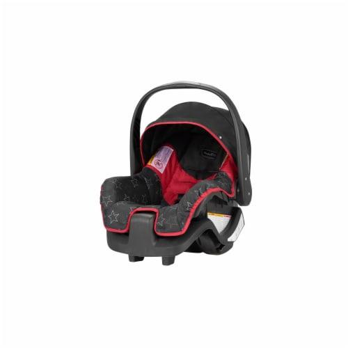 Evenflo Nurture Infant Car Seat - Black/Red Perspective: front