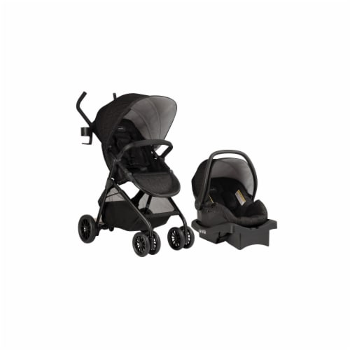 Evenflo Sibby Travel System - Charcoal Perspective: front