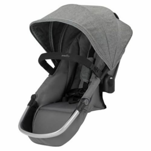 Evenflo 63012254 Second Seat for Pivot Xpand Stroller, Travel System, Percheron Perspective: front